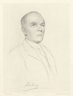 Charles John Darling, 1st Baron Darling, after Aidan Savage - NPG D20815