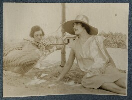 Baroness Franchitti; Lady Ottoline Morrell, by Unknown photographer - NPG Ax142895