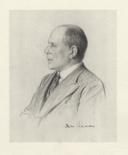 Sir Owen Seaman, 1st Bt, after Frederick Pegram - NPG D20822