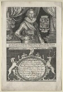 Robert Devereux, 3rd Earl of Essex, after Unknown artist - NPG D21320