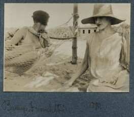 Baroness Franchitti; Lady Ottoline Morrell, by Unknown photographer - NPG Ax142898