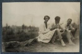Maria Huxley (née Nys); Aldous Huxley; Philip Edward Morrell, by Lady Ottoline Morrell - NPG Ax142900
