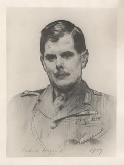 Hugh Montague Trenchard, 1st Viscount Trenchard, after John Singer Sargent - NPG D20833