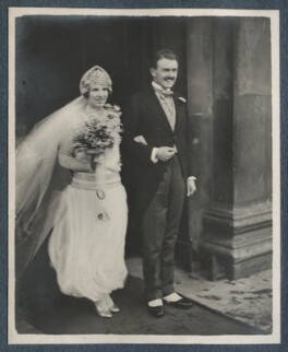 The Wedding of Julian Morrell and Victor Goodman, by Unknown photographer - NPG Ax142916