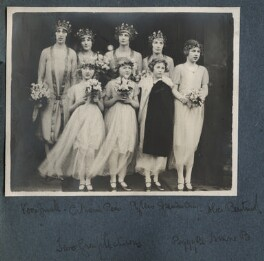 'The Wedding of Julian Morrell and Victor Goodman', by Unknown photographer, 24 January 1928 - NPG Ax142920 - © National Portrait Gallery, London