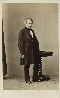 Dominic Charles Colnaghi, by Leonida Caldesi, 1860s - NPG Ax17152 - © National Portrait Gallery, London