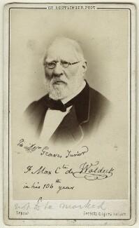 Jean Frédéric Maximilien de Waldeck, by Charles Reutlinger - NPG Ax17176