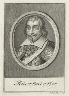 Robert Devereux, 3rd Earl of Essex, by James Hulett - NPG D21335