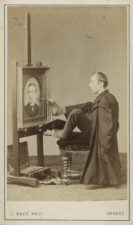 Charles François Felu, by Joseph Maes, 1860s - NPG x18868 - © National Portrait Gallery, London