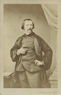 Wilhelm von Kaulbach (Bernhard Wilhelm Eliodrus Kaulbach), by Franz Hanfstaengl - NPG Ax17201