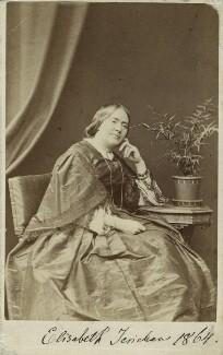 Anna Maria Elisabeth Jerichau-Baumann, by London Stereoscopic & Photographic Company - NPG Ax17208