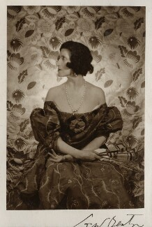 Lady Ottoline Morrell, by Cecil Beaton - NPG Ax142926