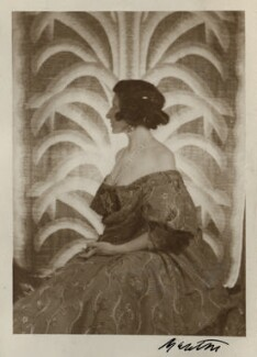 Lady Ottoline Morrell, by Cecil Beaton - NPG Ax142927
