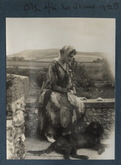 Lady Ottoline Morrell ('Ottoline after her illness'), by Unknown photographer - NPG Ax142942