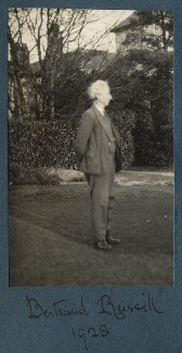 Bertrand Russell, by Lady Ottoline Morrell - NPG Ax142973