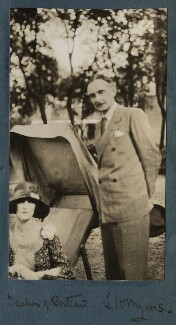 Winifred Anna (née Dallas-Yorke), Duchess of Portland; Leopold Hamilton Myers, by Lady Ottoline Morrell - NPG Ax142995