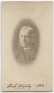 Richard ('Dick') Worsley, by Unknown photographer, 1863 - NPG Ax39775 - © National Portrait Gallery, London