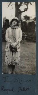 Tina Meller (née Agustina Marqués López), by Lady Ottoline Morrell - NPG Ax143002