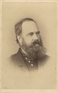 Edward Armitage, by Elliott & Fry, circa 1867 - NPG Ax28916 - © National Portrait Gallery, London