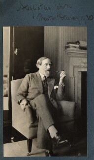 Augustus John, by Lady Ottoline Morrell - NPG Ax143138