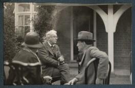 W.B. Yeats; Walter de la Mare, by Lady Ottoline Morrell - NPG Ax143156