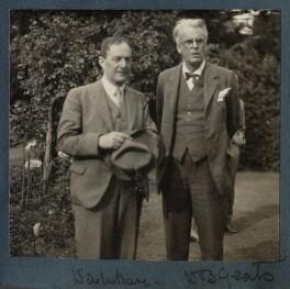 Walter de la Mare; W.B. Yeats, by Lady Ottoline Morrell - NPG Ax143162
