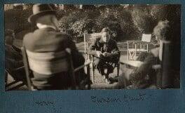 Gilbert Spencer; Lord Henry Cavendish-Bentinck; Duncan Grant; Raymond Mortimer, by Lady Ottoline Morrell - NPG Ax143163