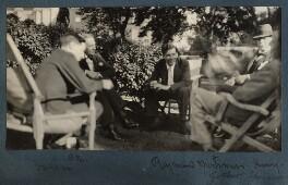 Duncan Grant; Philip Edward Morrell; Raymond Mortimer; Lord Henry Cavendish-Bentinck; Gilbert Spencer, by Lady Ottoline Morrell - NPG Ax143164