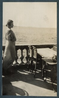 Lady Ottoline Morrell, by Philip Edward Morrell - NPG Ax143184