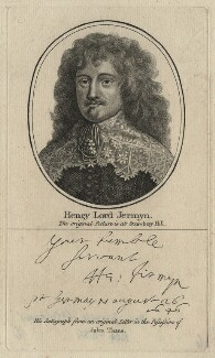 Henry Jermyn, Earl of St Albans, after Unknown artist - NPG D21339