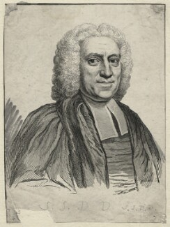 Samuel Salter, probably by François Vivares, after  Unknown artist - NPG D21340