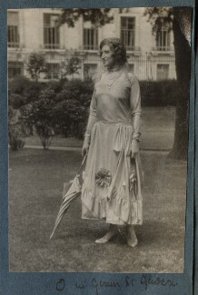 Lady Ottoline Morrell, possibly by Lady Ottoline Morrell - NPG Ax143222
