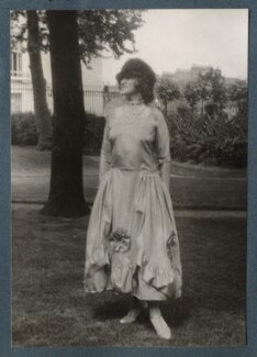 Lady Ottoline Morrell, possibly by Lady Ottoline Morrell - NPG Ax143223