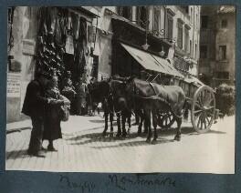 'Piazza Montanara, Rome', by Lady Ottoline Morrell - NPG Ax143274