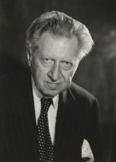 Sir Osbert Sitwell, by Walter Bird, June 1958 - NPG x165780 - © National Portrait Gallery, London