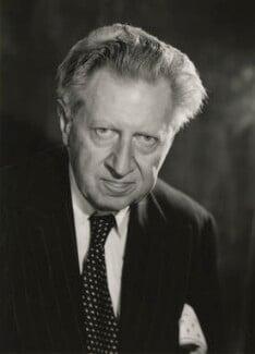 Sir Osbert Sitwell, by Walter Bird, June 1958 - NPG x165780 - © National Portrait Gallery, London