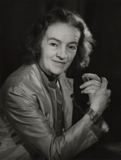 Barbara Hepworth, by Walter Bird, 14 October 1965 - NPG x165779 - © National Portrait Gallery, London