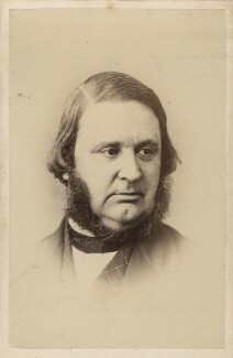 Edward Matthew Ward, by Elliott & Fry - NPG Ax28952
