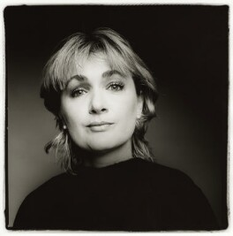 Caroline Aherne, by Fergus Greer - NPG x127786