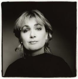 Caroline Aherne, by Fergus Greer, 1997 - NPG x127786 - © Fergus Greer