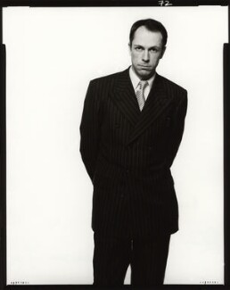 Dylan Jones, by Fergus Greer, 1993 - NPG x127794 - © Fergus Greer