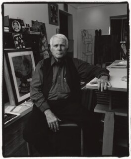 R.B. Kitaj, by Fergus Greer - NPG x127796