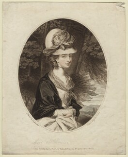 Frances Anne Crewe (née Greville), Lady Crewe, by Thomas Watson, after  Daniel Gardner - NPG D21354