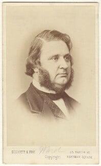 Edward Matthew Ward, by Elliott & Fry - NPG Ax17286