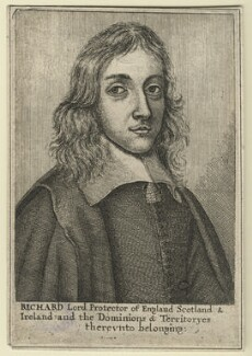 Richard Cromwell, by Wenceslaus Hollar - NPG D21361