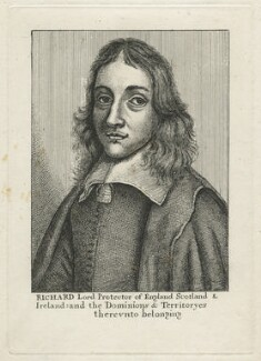 Richard Cromwell, after Wenceslaus Hollar - NPG D21362
