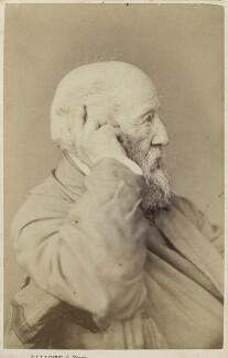 John Linnell, by Elliott & Fry - NPG Ax28971
