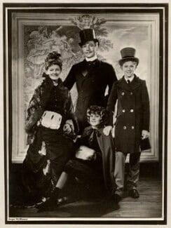 Rachel Kempson, Lady Redgrave; Sir Michael Redgrave; Vanessa Redgrave; Corin William Redgrave, by Angus McBean, 1950 - NPG x45117 - Angus McBean Photograph. © Harvard Theatre Collection, Harvard University.