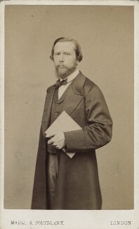 James Thomas Linnell, by Maull & Polyblank - NPG Ax14906
