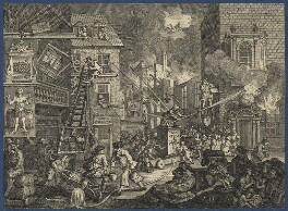 'The Times', Plate 1, by William Hogarth, published 1762 - NPG D21366 - © National Portrait Gallery, London